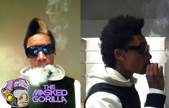 wiz khalifa haircut 2011. Wiz Khalifa#39;s New Lil Twist