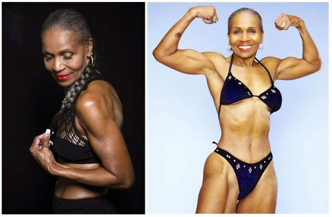 Ernestine Sheperd, 75 years old Body builder | This Woman's Word