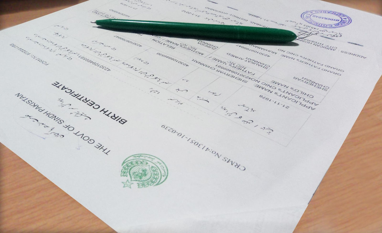 Pakistan Birth Certificate Living Away From Home Simple Tasks