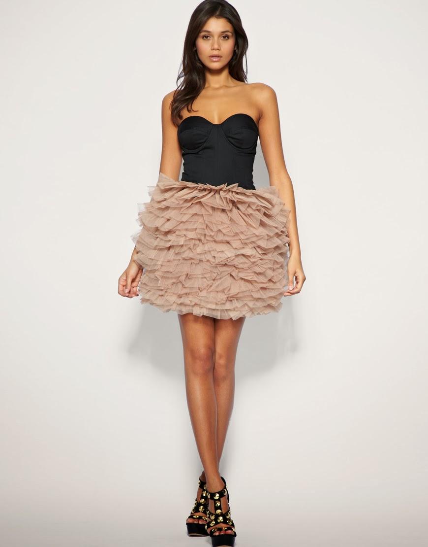 Названия платья с юбкой