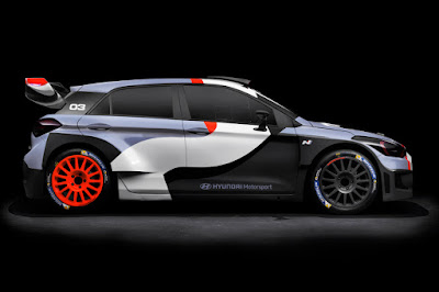 Hyundai i20 WRC 2016 Side