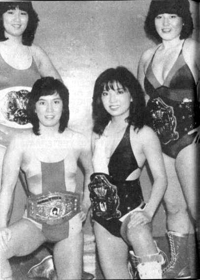 Jumbo Hori, Rimi Yokota, Mimi Hagiwara and Yukari Omori