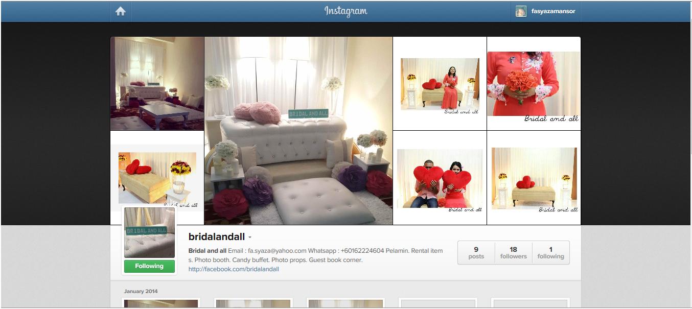 http://instagram.com/bridalandall
