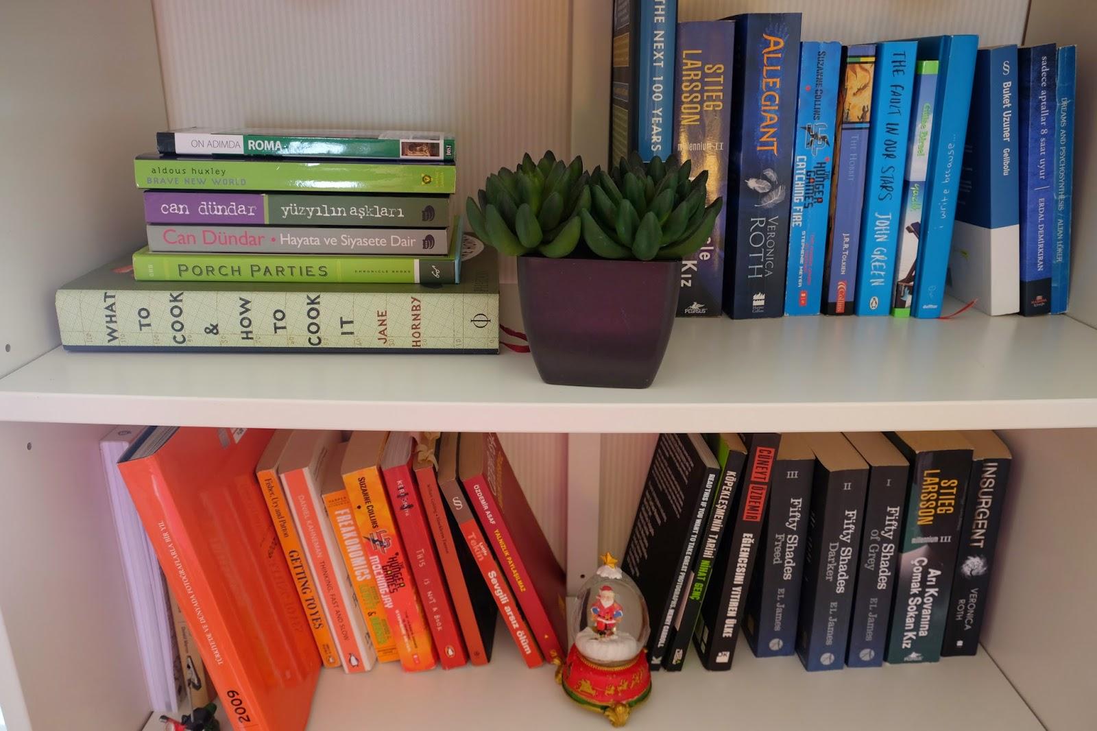 color-coding-books kitaplari-renklere-gore-ayirmak