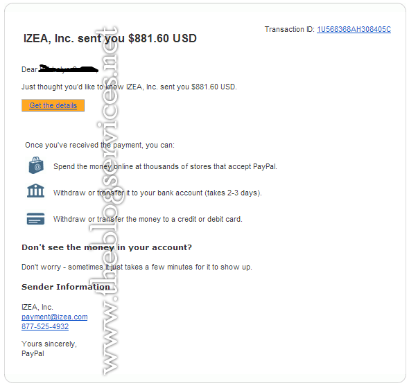 Latest Payout May 15, 2014 (March 2014 Earnings) izeamedia payment proof