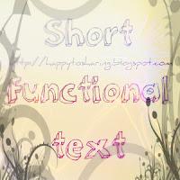 Bahasa Inggris : Macam-macam teks fungsional pendek dalam bahasa ...