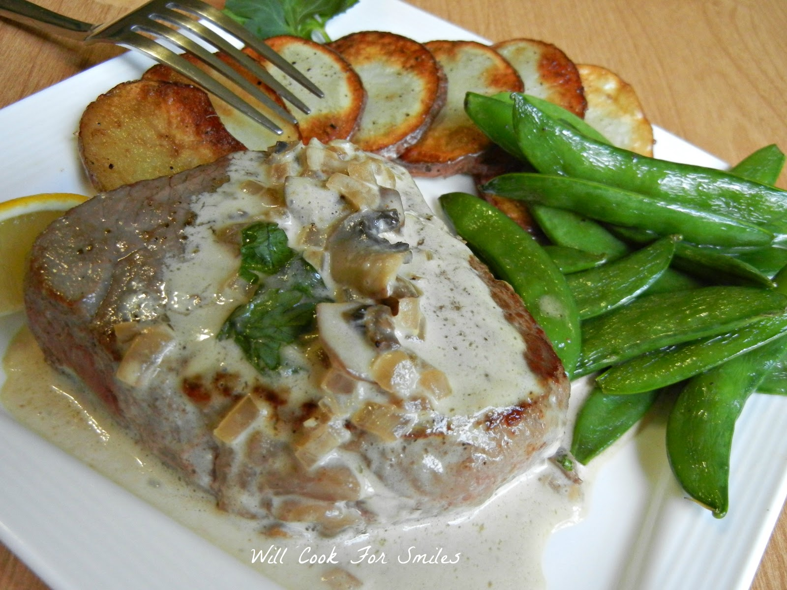 Steak Diane (+ A Video of Flambe) - Will Cook For Smiles