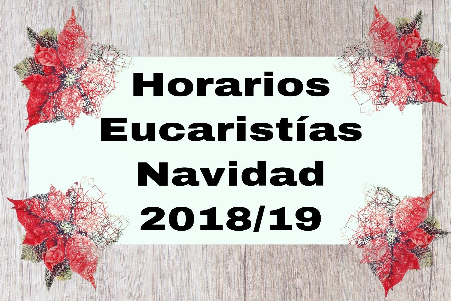 Eucaristía Navidad 2018-19