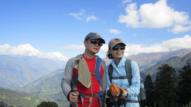 Honeymoon trip in Nepal