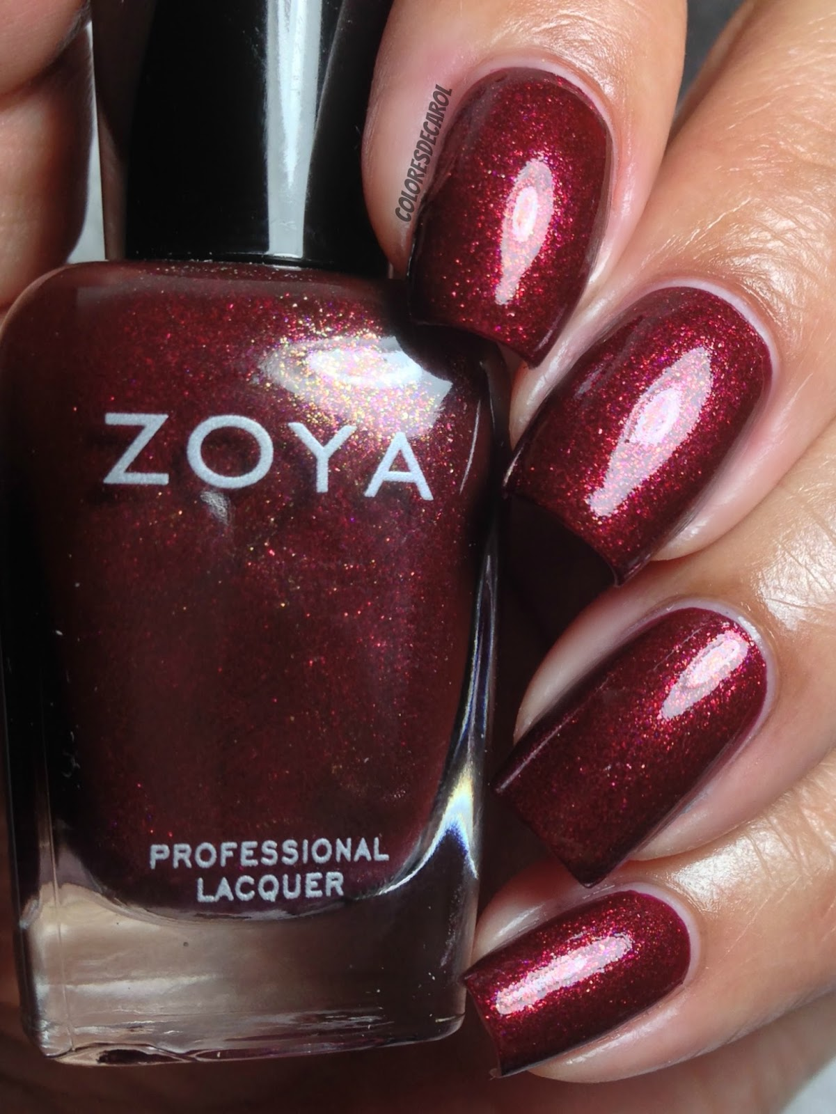 Colores de Carol: ZOYA - Ignite Collection, Swatches and Review.