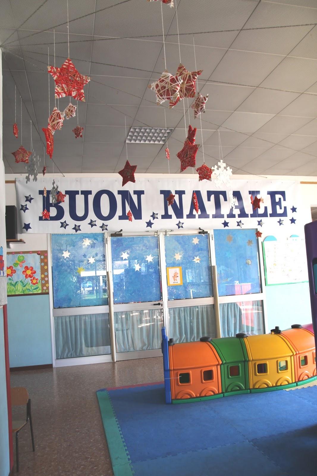 Addobbi natalizi per il salone scuola dell 39 infanzia - Addobbi natalizi per finestre scuola infanzia ...