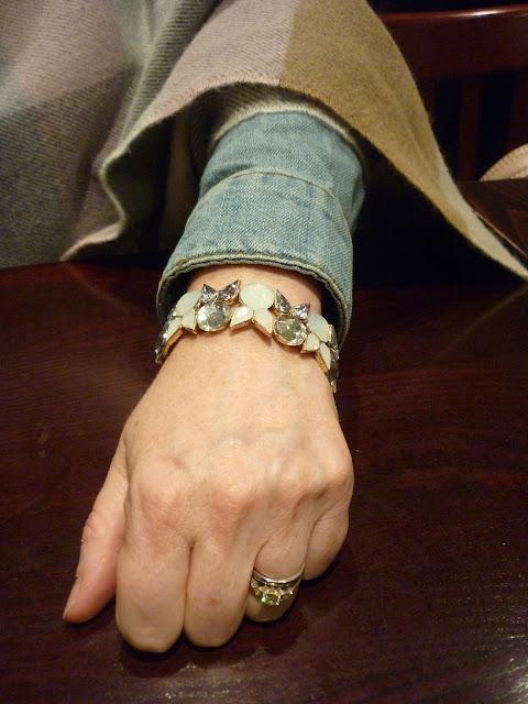 Grey & Opal Bracelet | Petite Silver Vixen