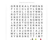 Difficult Printable Word Search Games