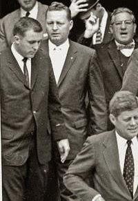 SA Gerald Blaine and Harvey Henderson (both far right)- Henderson was a racist jerk