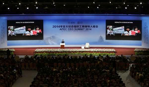 Jokowi Konferensi Tingkat Tinggi (KTT) Kerja Sama Ekonomi Asia - Asia-Pacific Economic Cooperation (APEC).