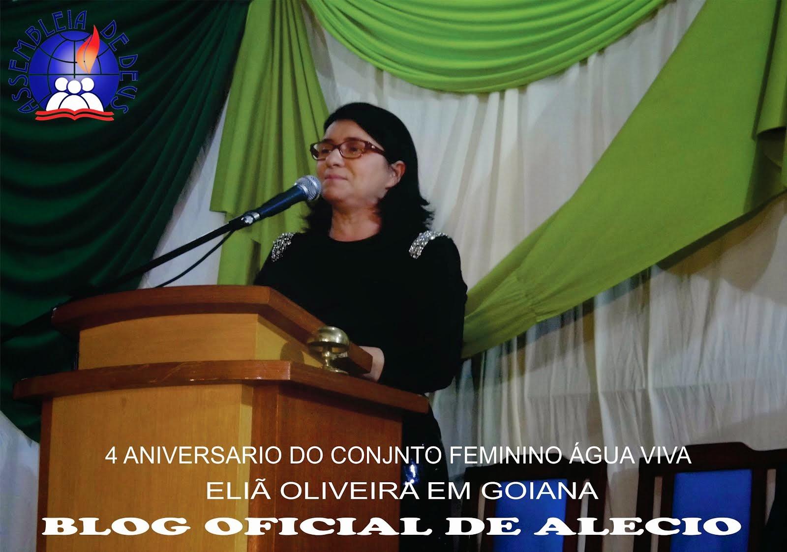 4 ANIVERSARIO DO CONJUNTO ÁGUA VIVA  COM ACANTORA ELIÃ OLIVEIRA DIA 29/ O6 / 2O14  EM GOIANA - PE