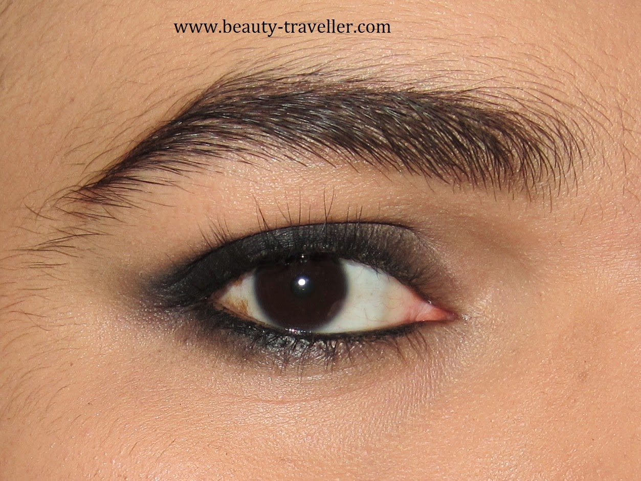 I Am Using The Lancome Hypnose Star Eyeshadow Palette In Gris Fume Take The  Shade No01