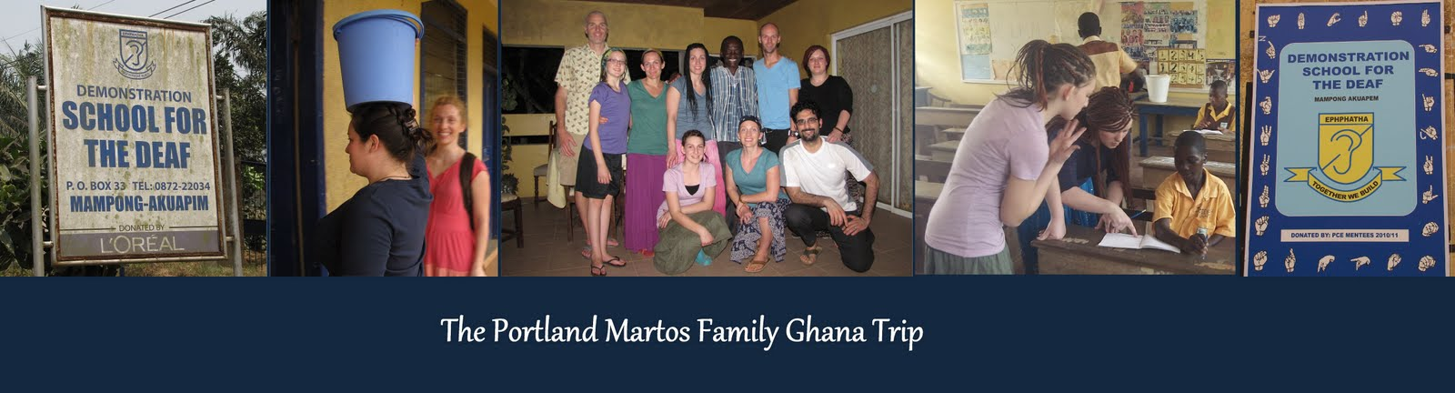 The PDX Martos Family Trip To Ghana