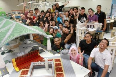 The 32 model builders of Legoland Malaysia have a lot to smile about!