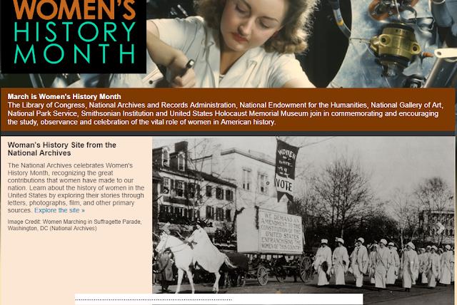 DOS OUTROS | USA | «March is Women's History Month» | CELEBRAM O CONTRIBUTO DAS MULHERES