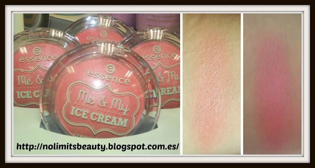 Essence Me & My Icecream - Cream blush & swatches