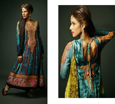 Exclusive Couture Bridal Collection 2012 By Shamaeel Ansari She Styles Pakistani Designer