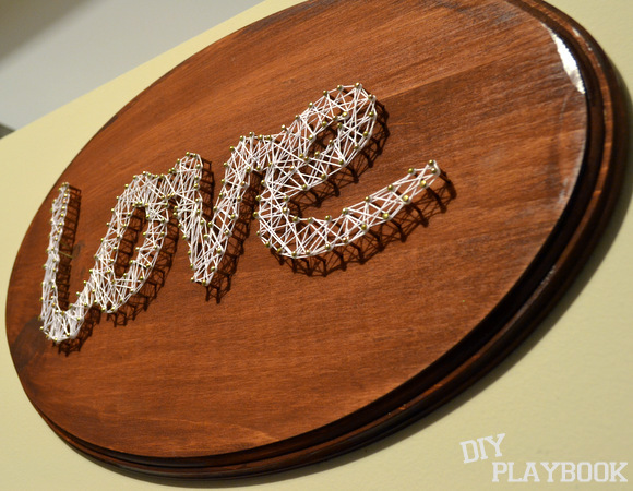 love our finished string string art