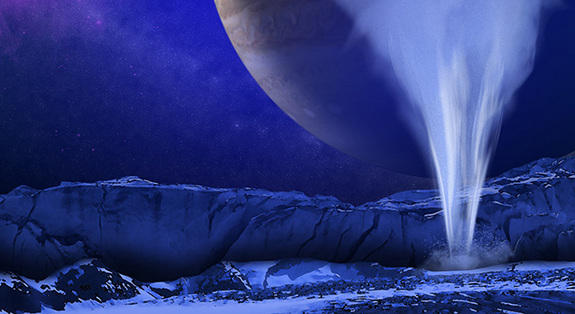 Hunt for Alien Life May Focus on Water-Vapor Plumes