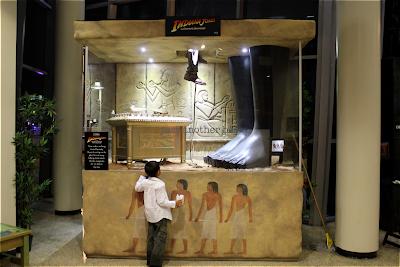 indiana jones exhibit glass snake pit