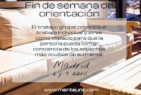 FIN DE SEMANA DE ORIENTACIÓN