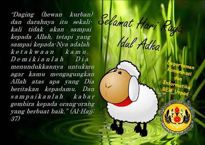 Puisi Selamat Hari Raya Idul Adha 1433 H 2012