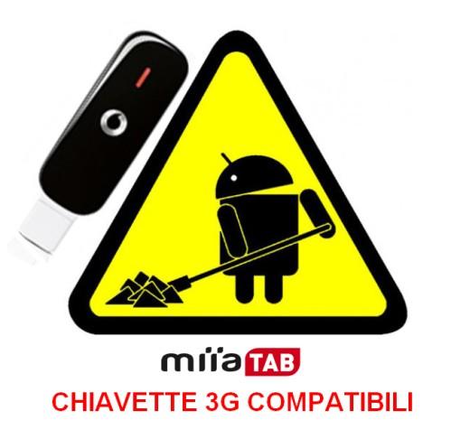 Lista chiavette 3G e guida installazione per Tablet Miia Tab