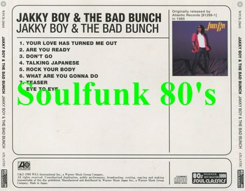 Jakky Boy & The Bad Bunch - I've Been Watching You / Rock The Rhythm