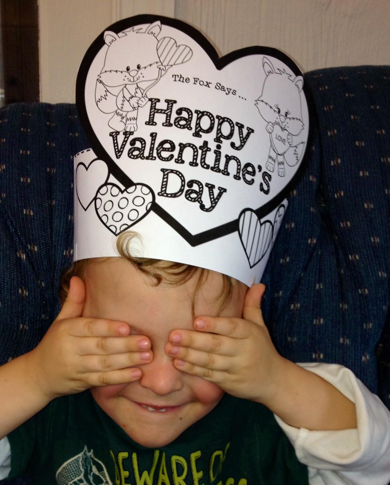 Valentine headband