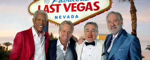 Morgan Freeman, Michael Douglas, Robert DeNiro, and Kevin Kline star in LAST VEGAS