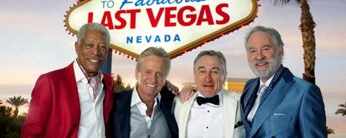Morgan Freeman, Michael Douglas, Robert DeNiro, and Kevin Kline star in LAST VEGAS