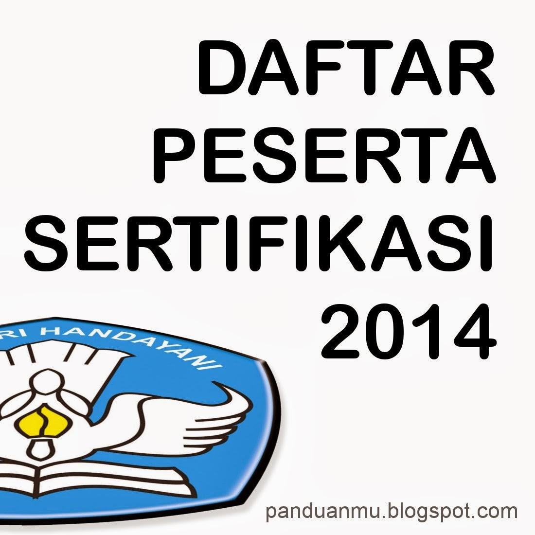 sertifikasi guru 2014