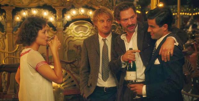 Pariste Gece Yarısı filmi, Marion Cotillard, Owen Wilson, Ernest Hemingway