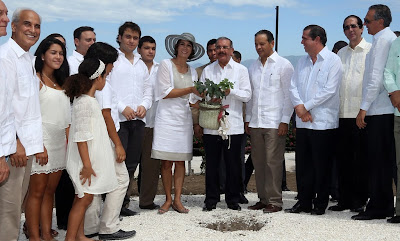 President Danilo Medina inaugurates the Ocoa Bay Project