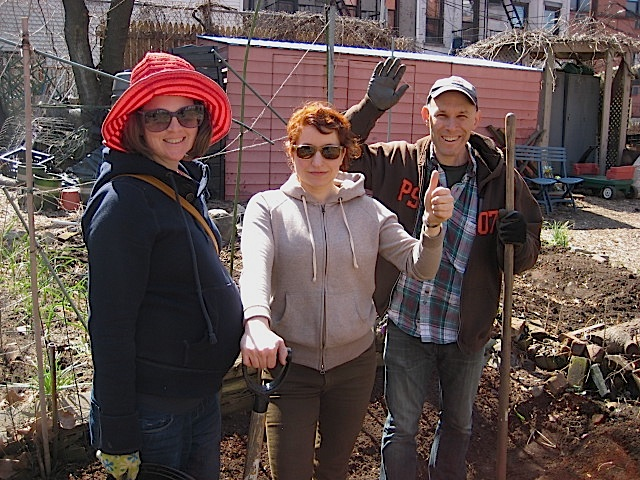 KATY, MARIA & JONATHAN COMMUNITY VEGETABLE  GARDEN