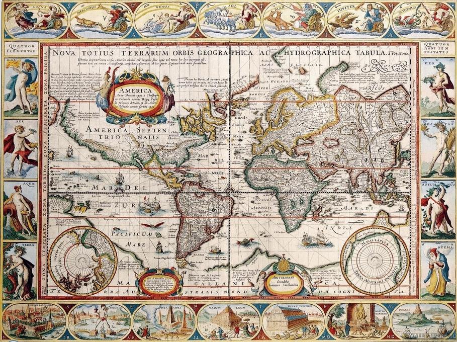 Секретная карта Колумба