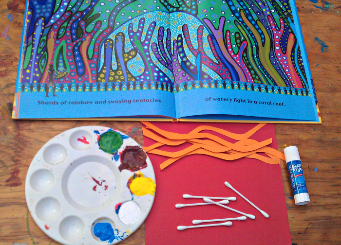 Australian aboriginal dot painting for kids and art for Art and craft books for kids