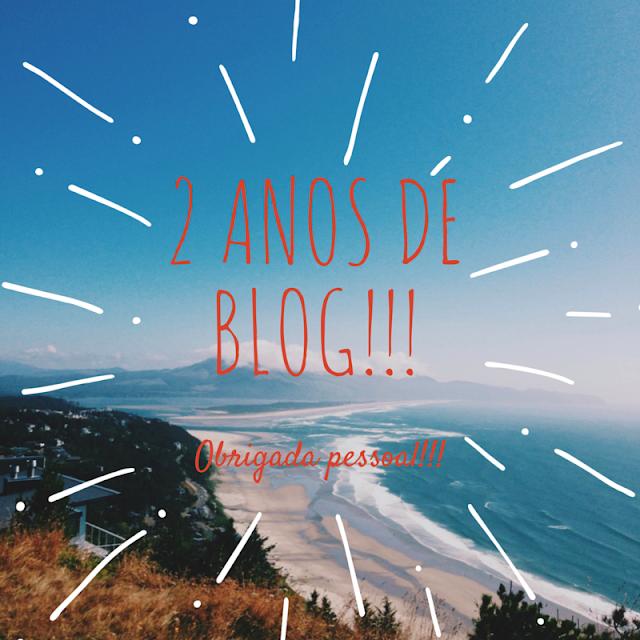 """2 anos do blog """"Tá indo pra onde?"""""""