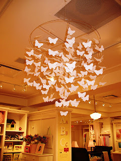 paper crafts for decor: butterfly chandelier tutorial
