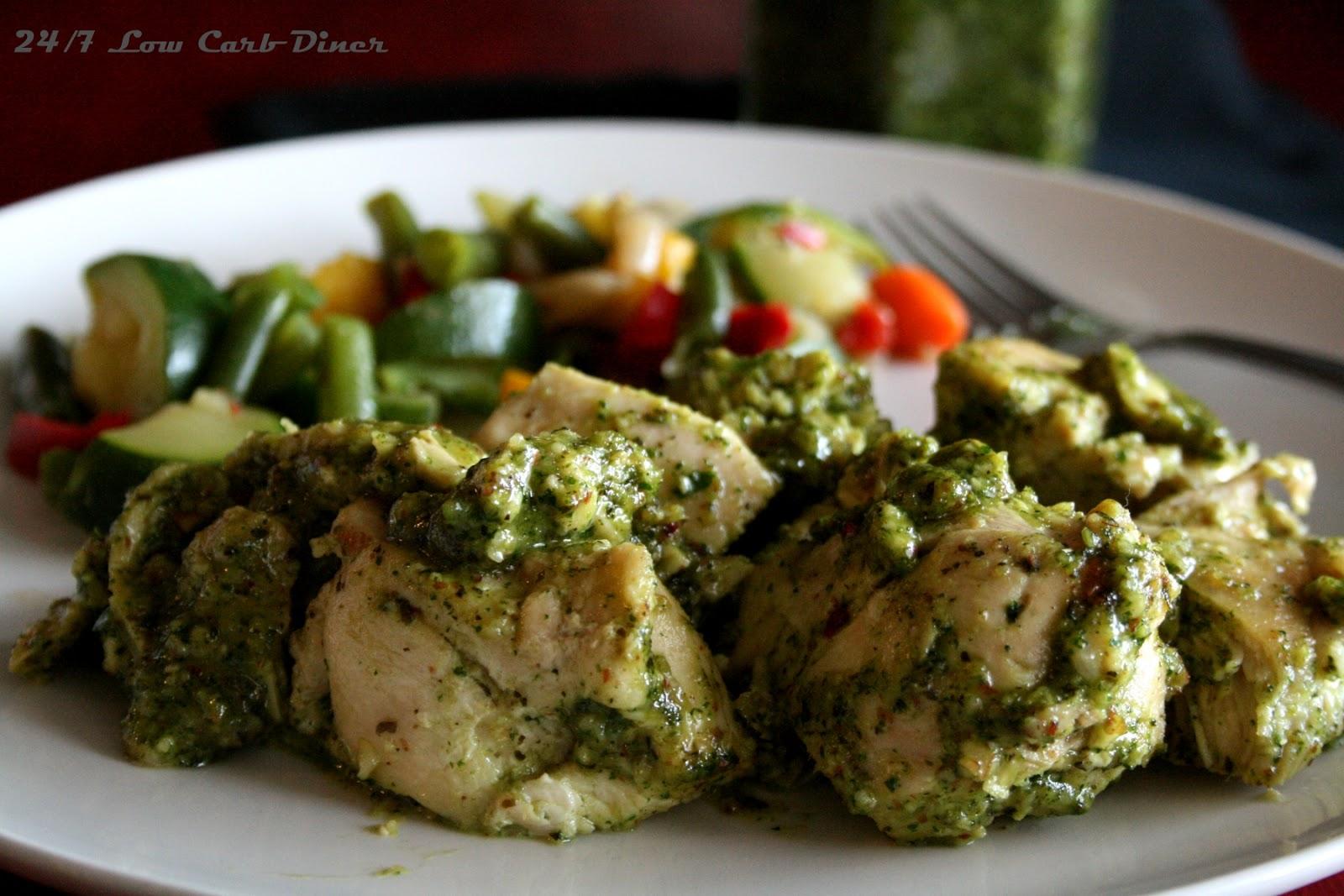 Kale Pesto Chicken