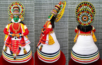 indian paper quilling figures