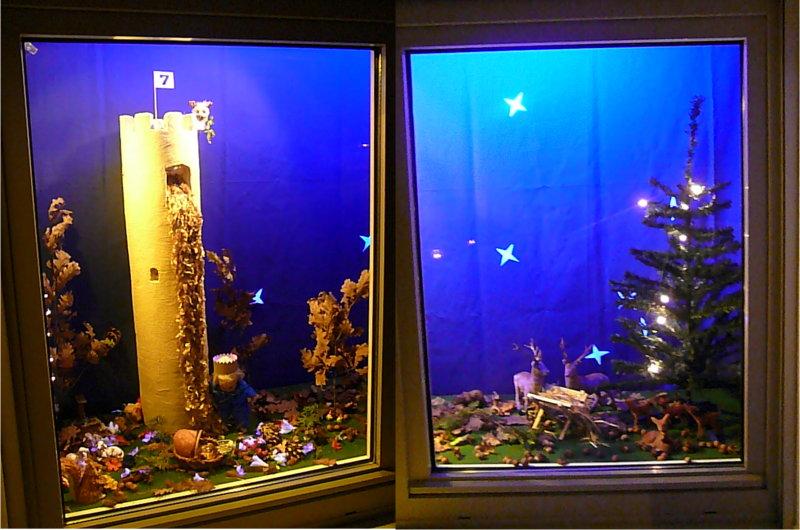 Wannweil 30 jahre weihnachtsmarkt wannweiler adventsfenster - Adventsfenster gestalten ideen ...