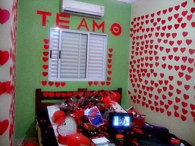 Per(feito) pra mim Supresa para o Namorado (Quarto decorado) ~ Quarto Romantico Para Namorado