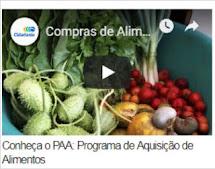 Videoaula sobre compras de Alimentos da Agricultura Familiar por órgãos públicos