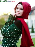 фото хиджаб: красный, черный, зеленый, красавица